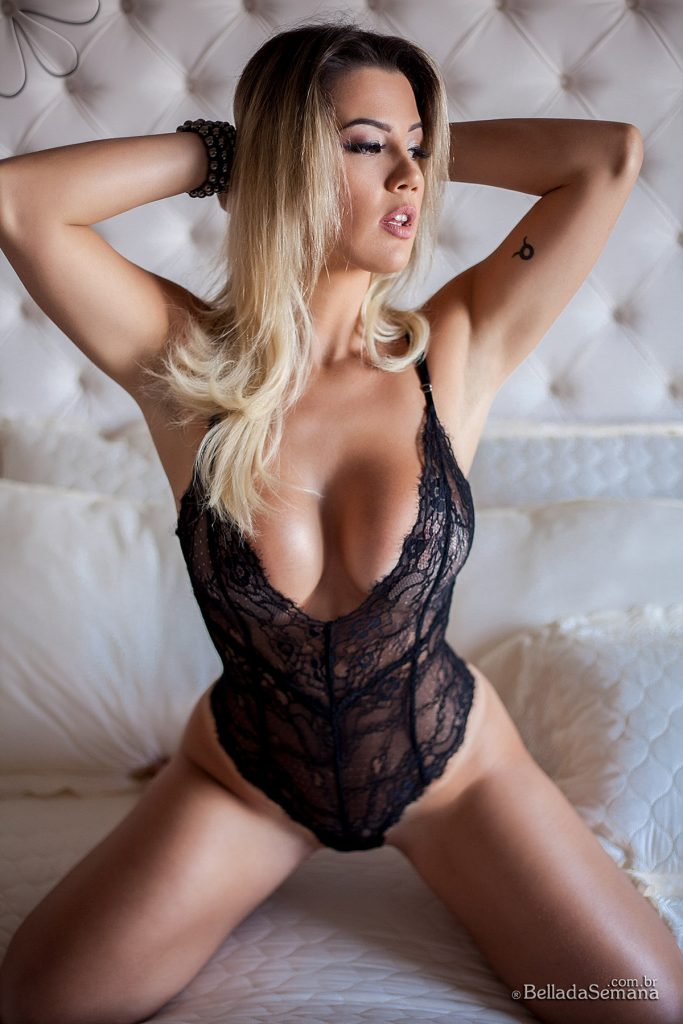 Vanessa Black Lace One Piece Bella Club