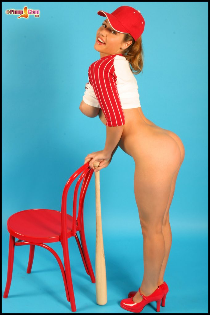 Erica Campbell Busty Baseball Fan Pinupfiles