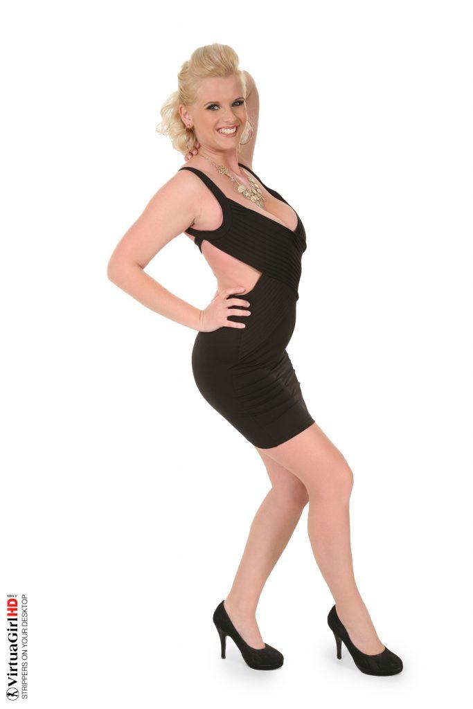 Sofia Black Dress IStripper