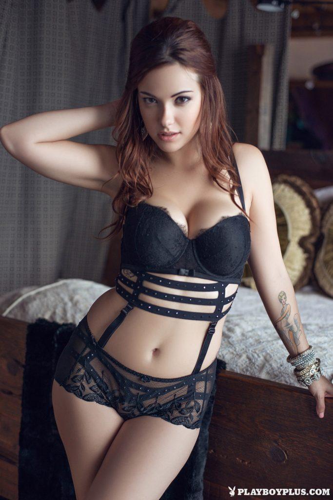 Elizabeth Marxs Fantasy Lingerie Playboy 1