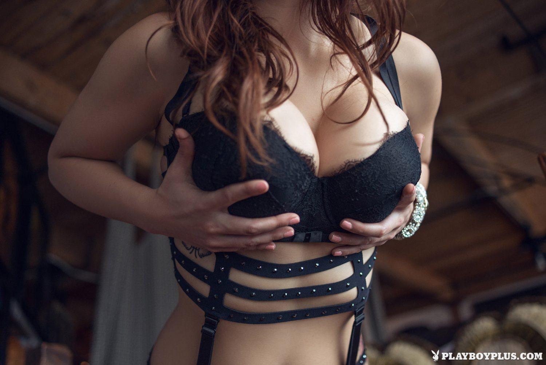 Elizabeth Marxs Fantasy Lingerie Playboy 2