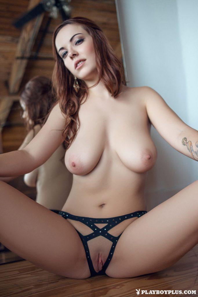 Elizabeth Marxs Fantasy Lingerie Playboy 9