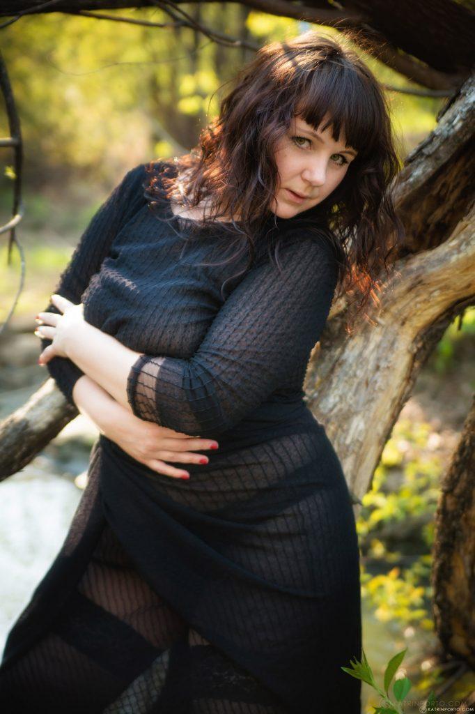 Katrin Porto Nude In The Park