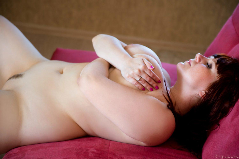 Katrin Porto Pink Sofa Nudes
