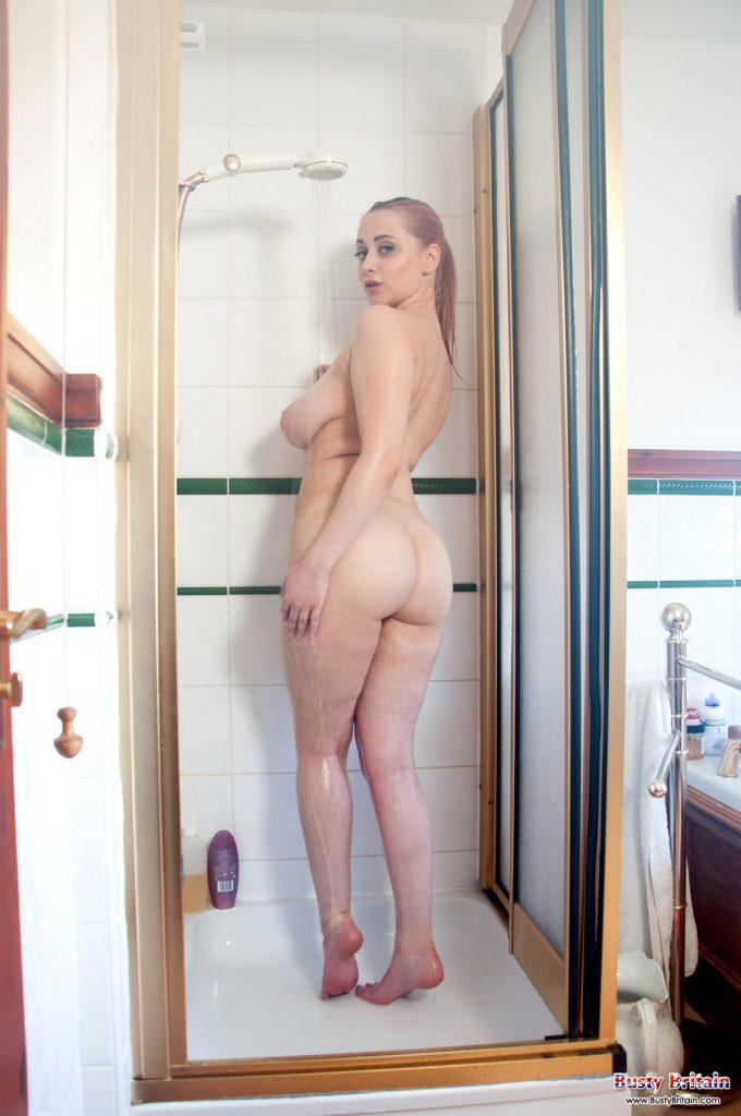 Rachel C Nude Shower Busty Britain 1