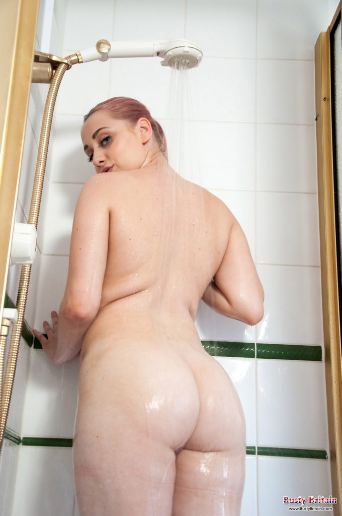 Rachel C Nude Shower Busty Britain 8
