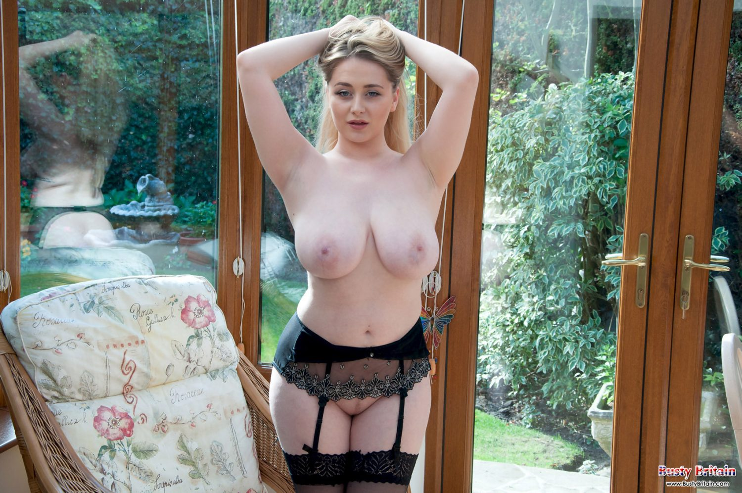 Rachel C Taking Off Her Lingerie Busty Britain 9