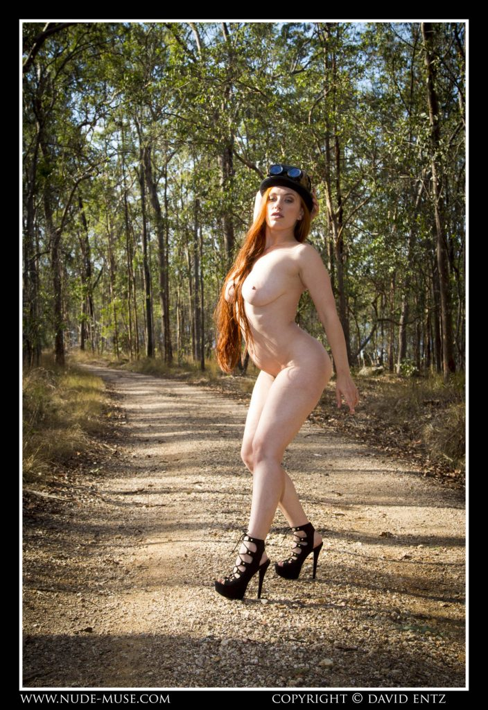 Titania Steam Punk Nude Muse