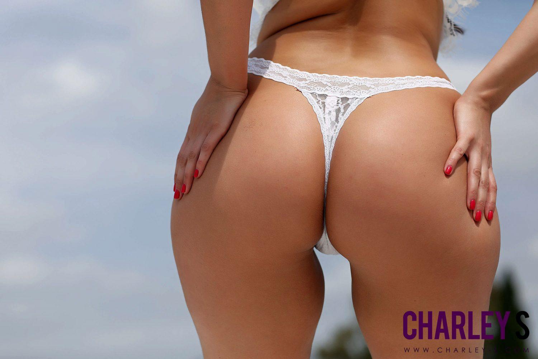 Charley Springer Thick Curves White Lingerie