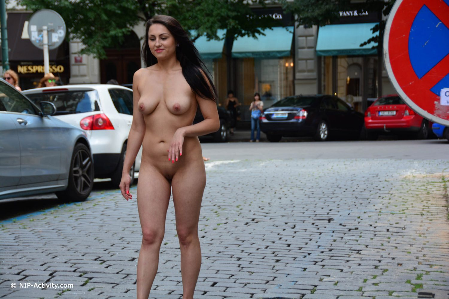 Stripping naked in public videos — 8