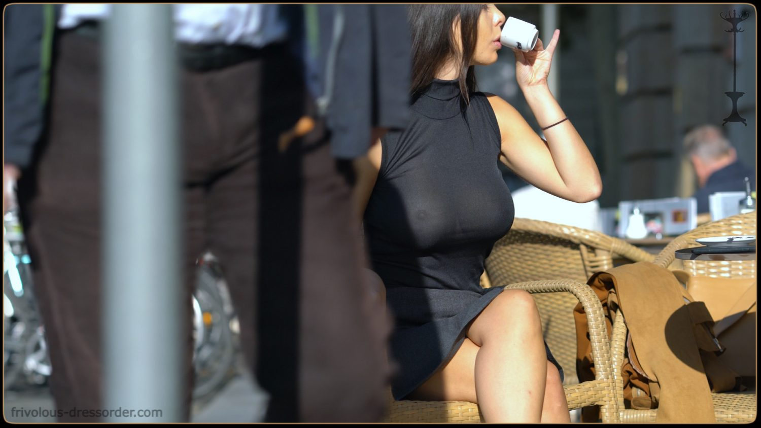 The Busty Lady In The Overcoat Frivolous Dress Order