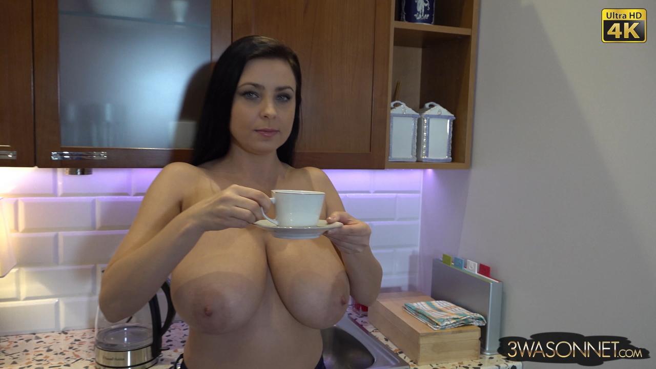 Ewa Sonnet Bare Breasted Tea Time