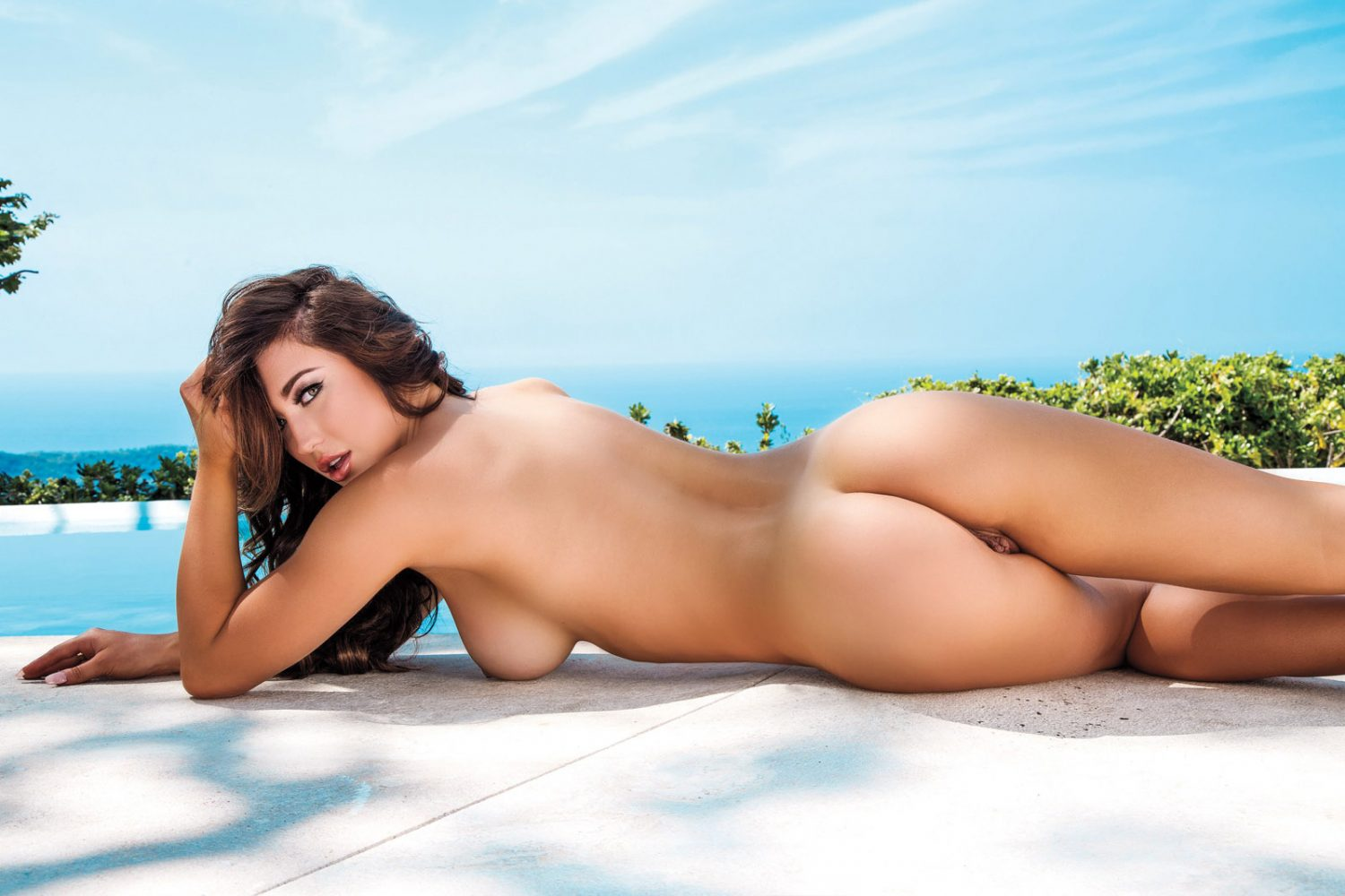 Stefanie Knight Poses Nude Playboy Mexico