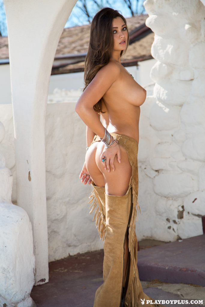 Chelsie Aryn Once Upon The West Playboy