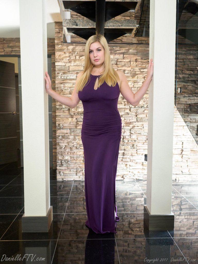 Danielle FTV Purple Dress Vixen