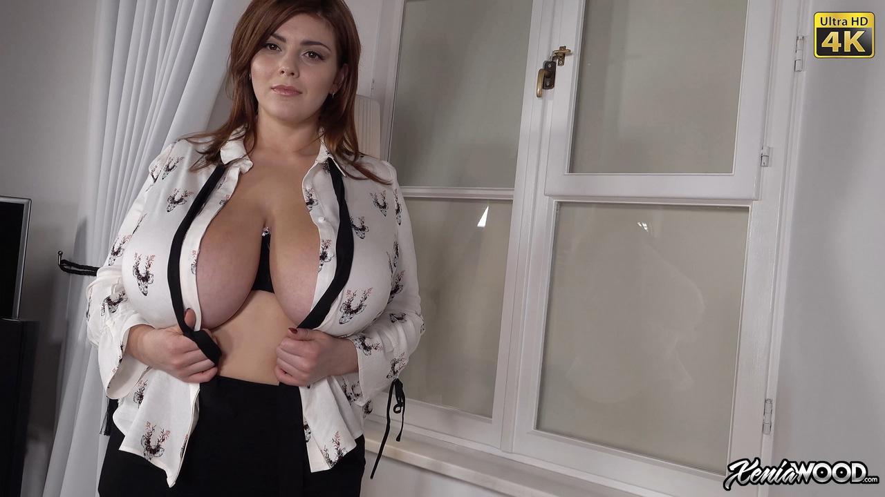 Xenia Wood Open Top Big Boobs