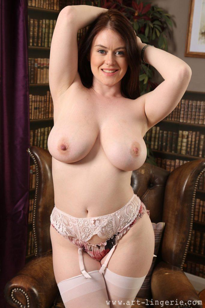 Brooke G Flower Nudes Art Lingerie
