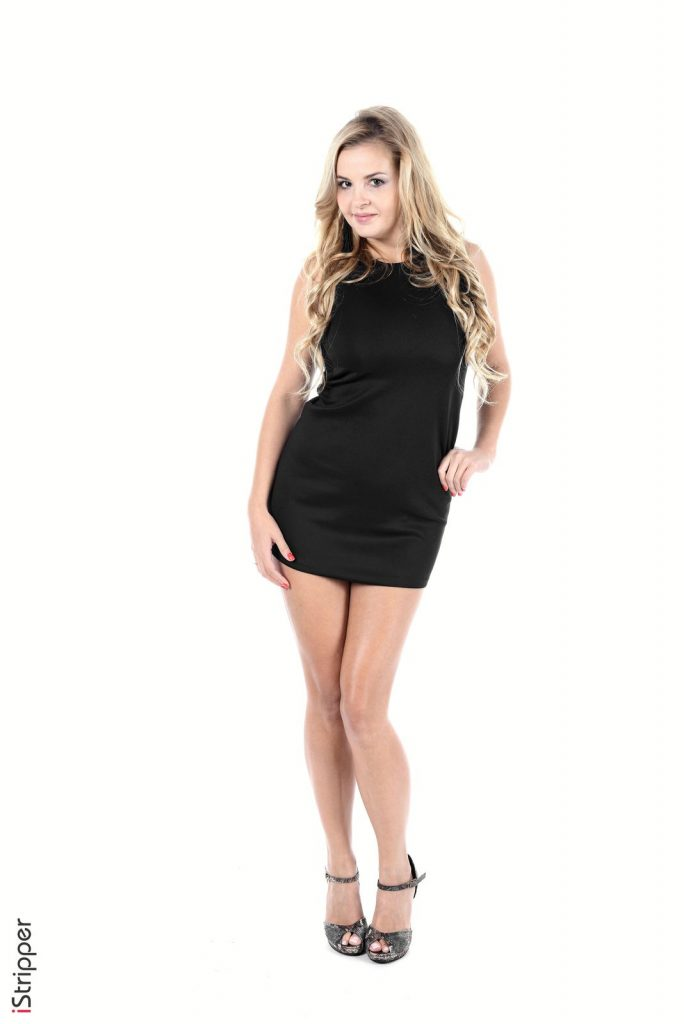 Candy Alexa Black Dress IStripper