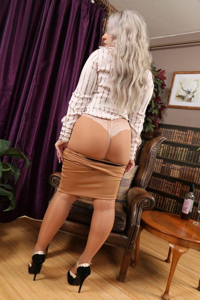 Paris Jade Busty Shy Secretary Only Tease