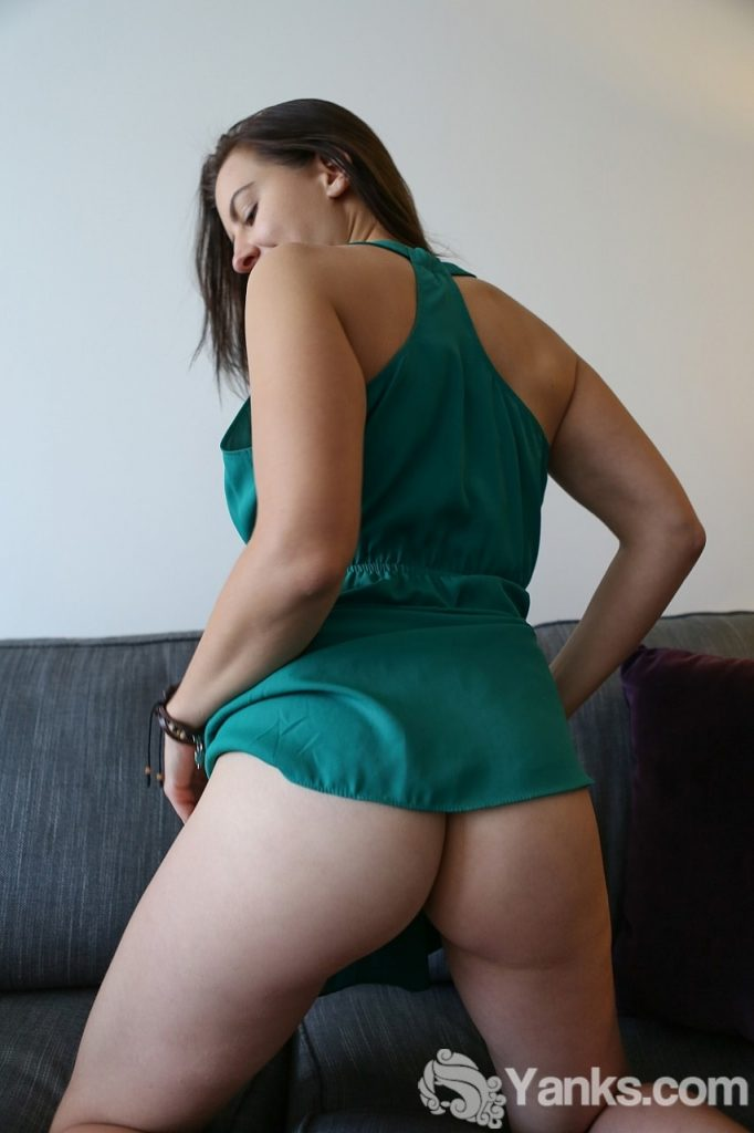 Tindra Frost Green Dress Yanks
