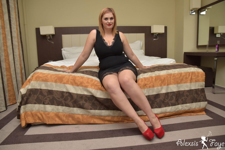 Alexsis Faye Sexy Black Dress