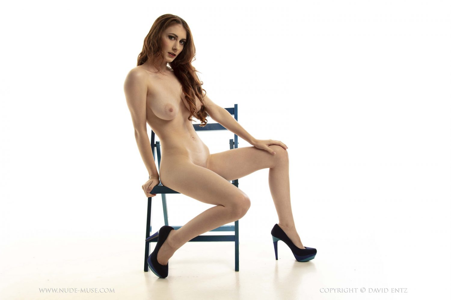 All Over 50 Nude Pics penni blue chair nude muse - curvy erotic