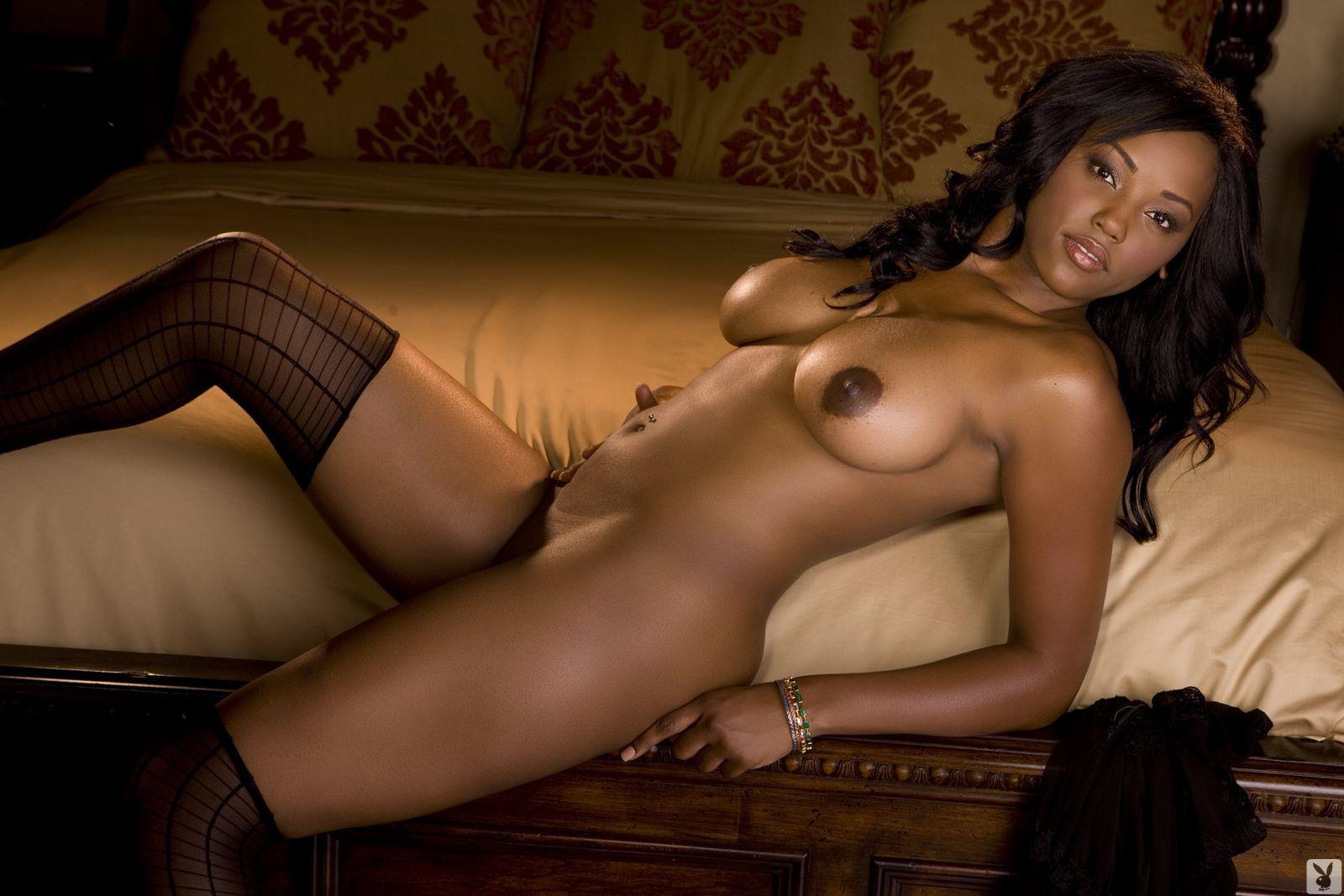 Playboy sexy ebony naked