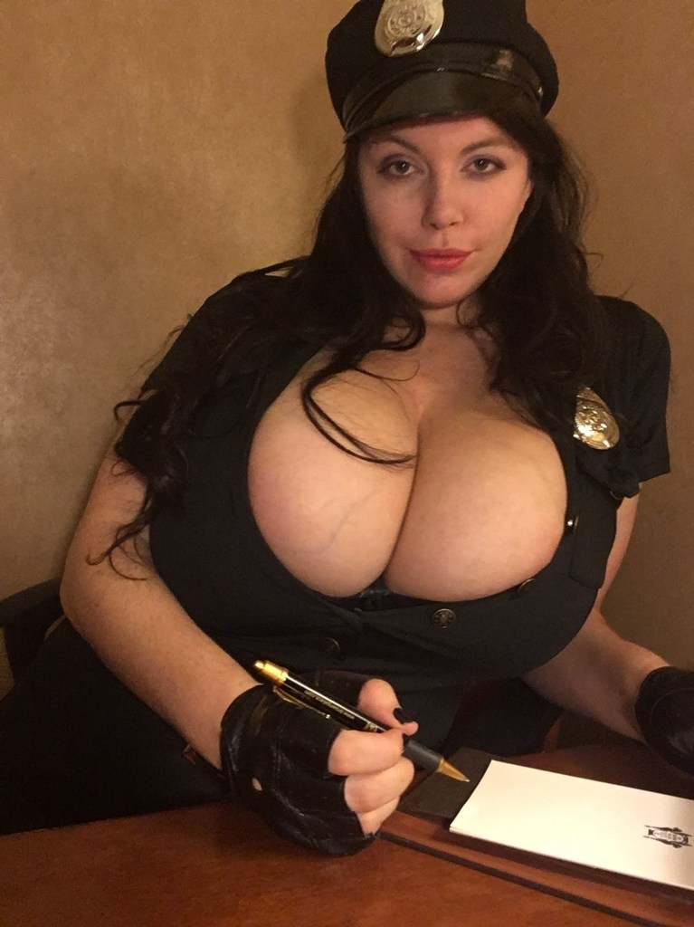 Lovely Lilith Super Busty Cop