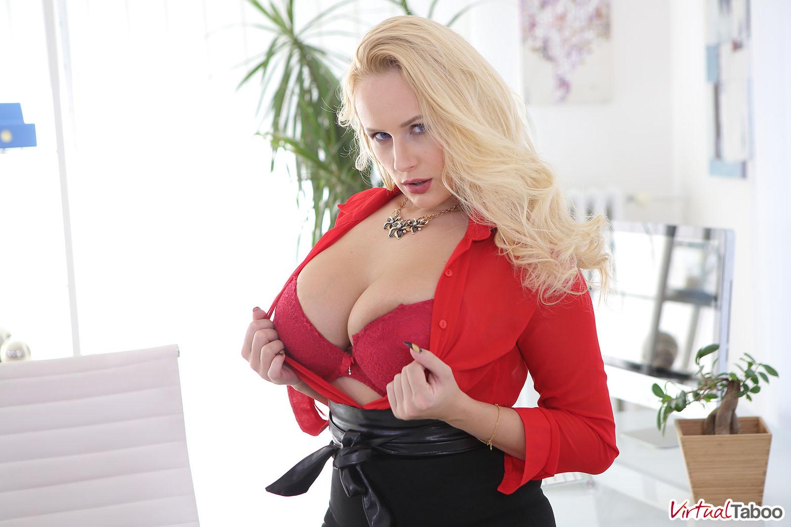 Angel Wicky Sexy Busty CEO Virtual Taboo - Curvy Erotic